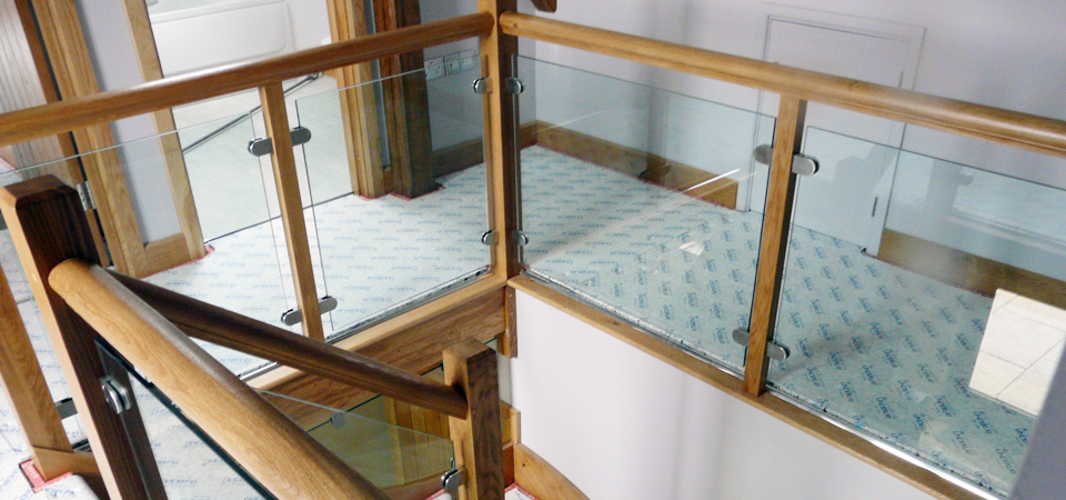 Stair Glass Balustrades UK Supplier
