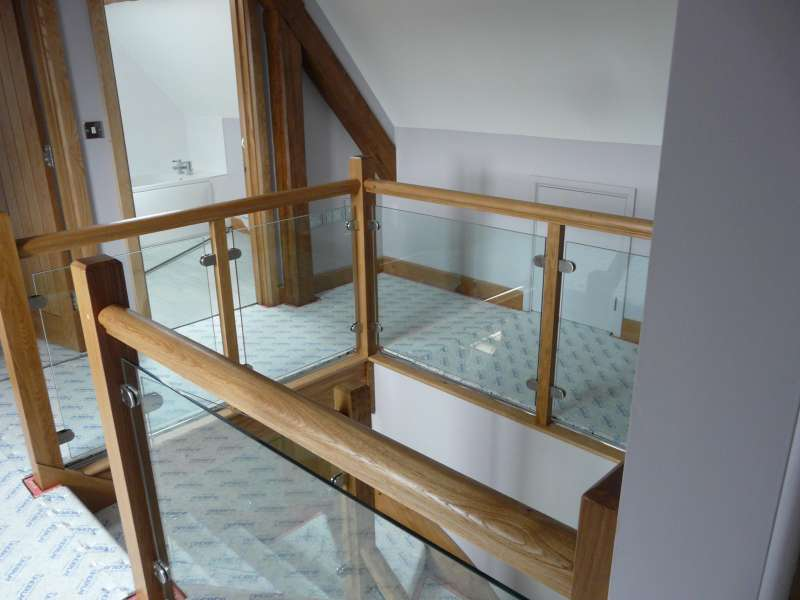 interior glass balustrade projects