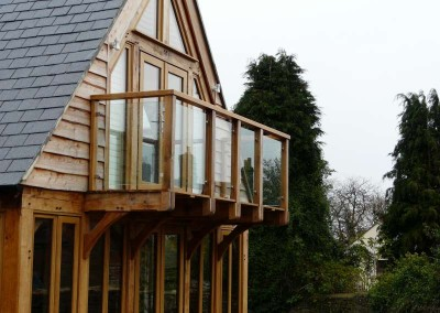 Exterior Glass Balustrade