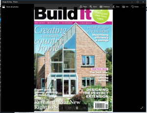 Build It! Magazine Cover
