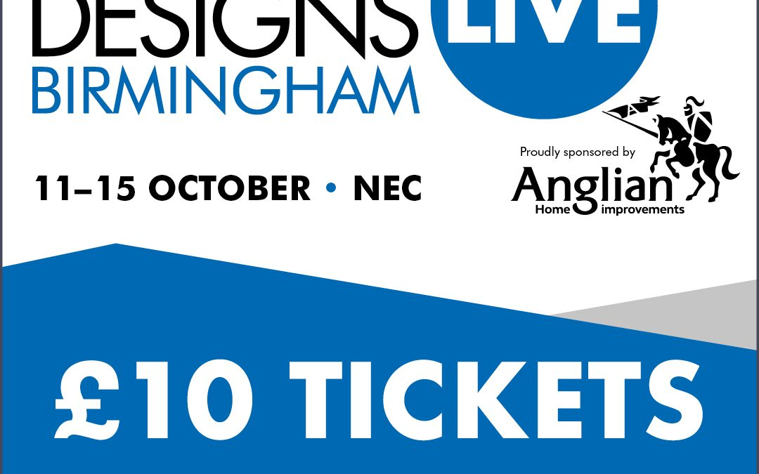 Grand Designs Discounted Ticket Offer
