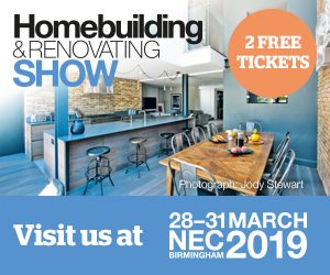 FREE TICKETS TO HOMEBUILDING & RENOVATING SHOW NEC IN MARCH